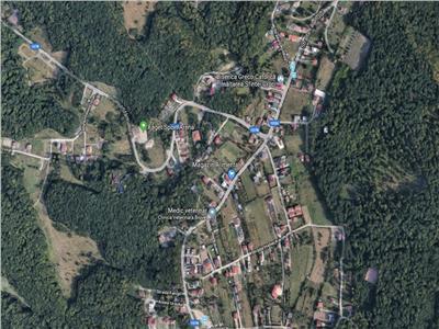 Vanzare Teren in Faget, 989 mp cu front 23 m, utilitati