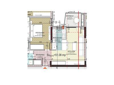 Vanzare Apartament 2 camere locatie de LUX Gheorgheni, Cluj-Napoca
