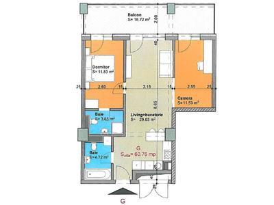 Apartament 3 camere ansamblu de lux Gheorgheni - Iulius Mall