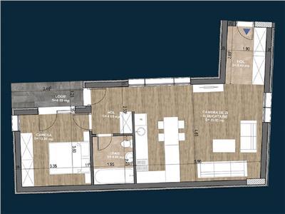 Apartament 2 camere in Centru, Clinica D. Stanca