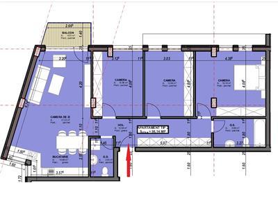 Apartament 4 camere decomandat cu parcare in Centru, Astoria