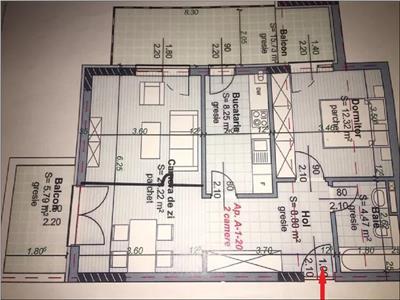Apartament 3 camere cu terasa Piata Abator, Centru, Cluj-Napoca