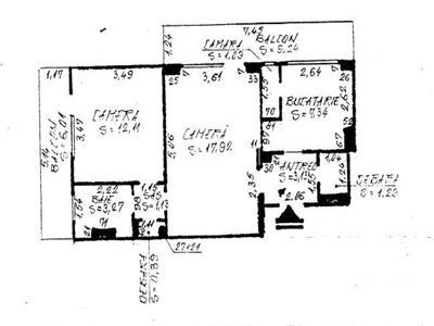 Vanzare Apartament 2 camere Gheorgheni - Scoala Internationala