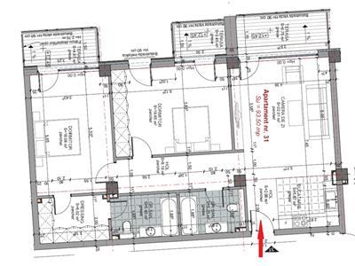Apartament 3 camere 94 mp, 2 bai, in Centru, P ta M. Viteazu, parcare
