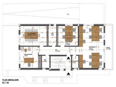 Inchiriere sediu de firma 4 camere modern in Andrei Muresanu