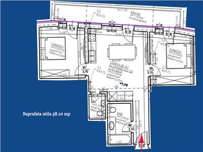 Vanzare Apartament 3 camere Centru zona Cluj Arena, Cluj Napoca