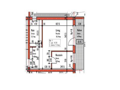 Vanzare Apartament o camera Europa zona Leroy Merlin, Cluj-Napoca