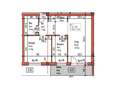 Vanzare Apartament 2 camere zona E.Ionescu - Europa, Cluj-Napoca
