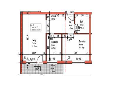 Vanzare Apartament 2 camere zona Calea Turzii - Zorilor, Cluj-Napoca