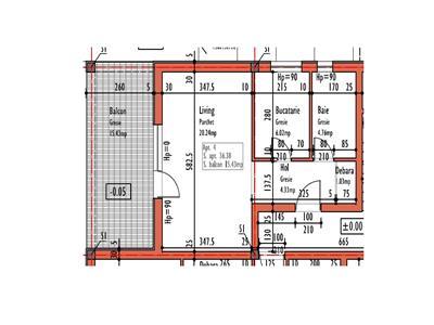 Vanzare Apartament doua camere E. Ionescu - Zorilor, Cluj-Napoca
