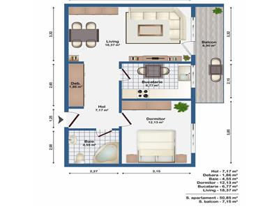 Vanzare Apartament cu gradina Europa - Eugen Ionescu, Cluj-Napoca