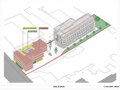 Inchiriere 507 mp, cladire de birouri, Semicentral, Cluj Napoca