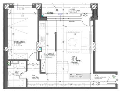 Vanzare Apartament 2 camere bloc nou Bucuresti Marasti, Cluj Napoca