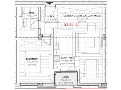 Vanzare Apartament 2 camere Maramuresului Iris, Cluj Napoca