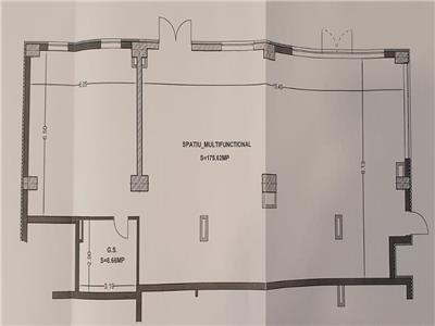 Vanzare Spatiu comercial 185 mp zona Leroy Merlin Marasti, Cluj-Napoca