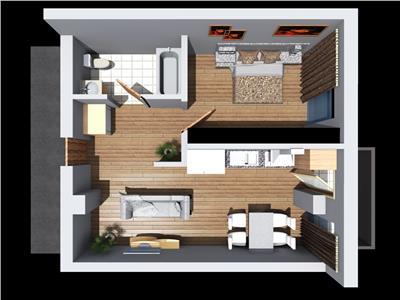 Vanzare apartament 2 camere in Dambul Rotund- Fabrica de Sport