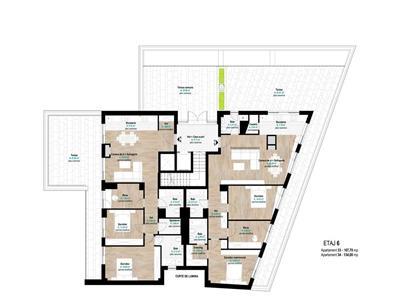 Penthouse de lux cu terasa de 62mp Gheorgheni Hermes, Cluj Napoca