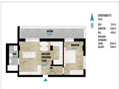 Vanzare Apartament 3 camere zona OMV, Calea Turzii, Cluj-Napoca