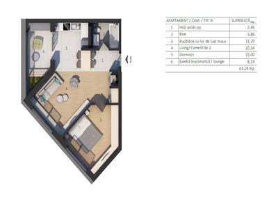Vanzare Apartament 3 camere zona VIVO, Autoworld Floresti, Cluj Napoca