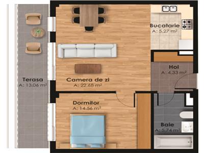 Vanzare Apartament 2 camere decomandat Horea Centru, Cluj-Napoca