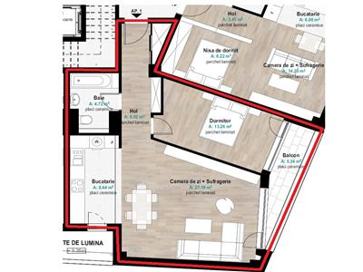 Inchiriere apartament 2 camere de lux in zona Hermes, Gheorgheni, Cluj Napoca