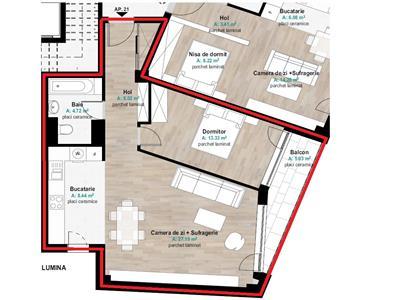 Vanzare Apartament 2 camere de LUX in zona Hermes, Gheorgheni, Cluj Napoca