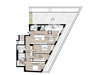 Vanzare Penthouse de LUX in zona Hermes, Gheorgheni, Cluj-Napoca
