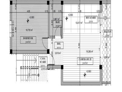 Vanzare apartament 2 camere in zona Donath capat Grigorescu, Cluj-Napoca