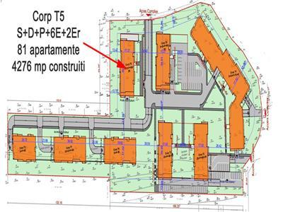 Vanzare proiect autorizat 81 apartamente, zona Donath, Floresti, Cluj-Napoca
