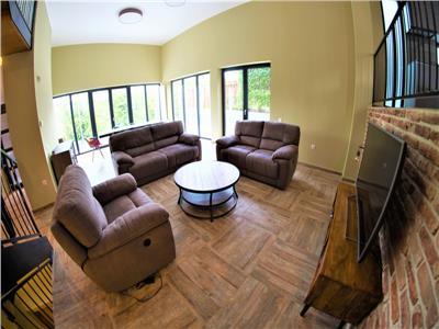 Vanzare casa individuala, ultrafinisata zona Gruia, mobilata si utilata complet!