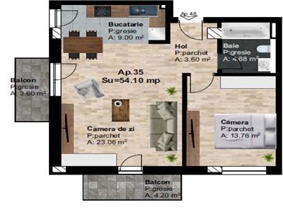 Vanzare apartament 2 camere zona Someseni, Cluj Napoca