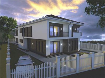 Vanzare parte duplex cu teren de 250 mp zona Apahida, Cluj-Napoca